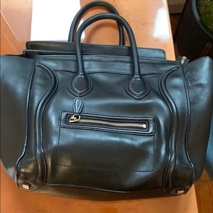 "Authentic Céline ""Mini Luggage Tote"""
